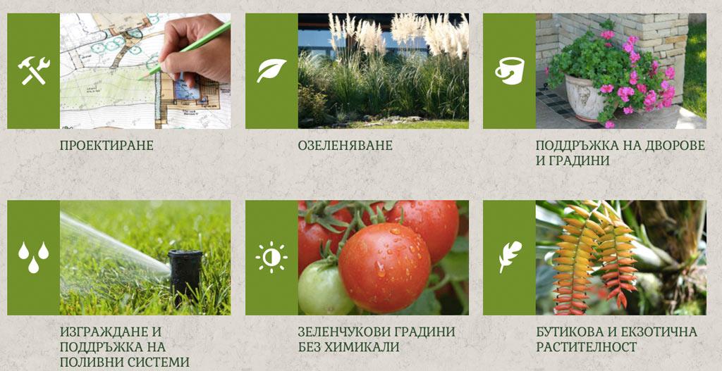web-site green-grass.bg