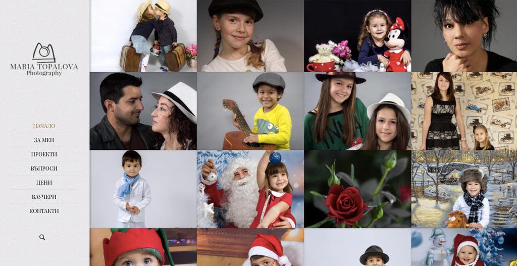 website photography